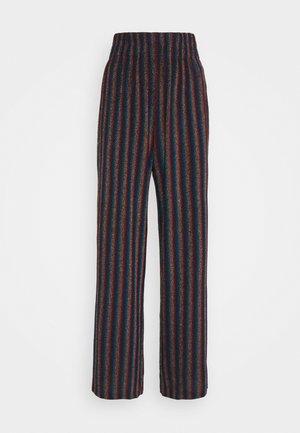 MARIE - Trousers - metallic stripe