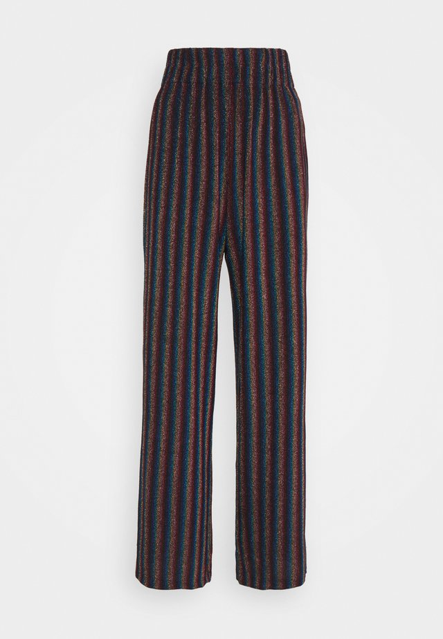 MARIE - Broek - metallic stripe