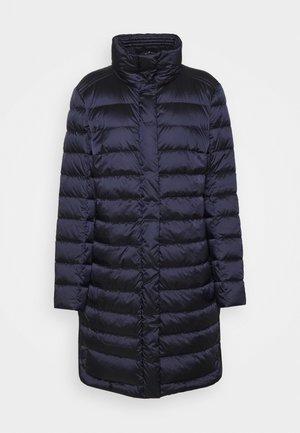 Down coat - midnight blue