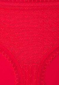 Chantelle - COURCELLES SHORTY - Alushousut - rouge poison - 2
