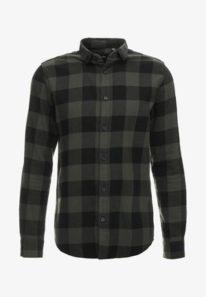ONSGUDMUND CHECKED - Shirt - forest night