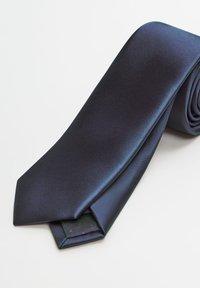 Mango - SATEN - Cravatta - dark navy blue - 2