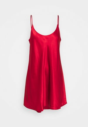 SHORT SLIPDRESS - Nightie - red tango