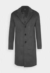 Bruuns Bazaar - JANUS COAT - Klasický kabát - dark grey - 5