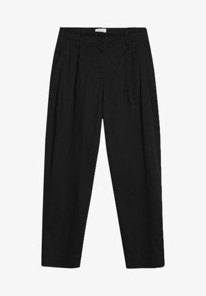 DULAA - Trousers - black