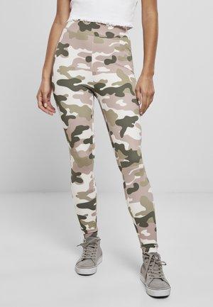 Leggings - Trousers - duskrose camo