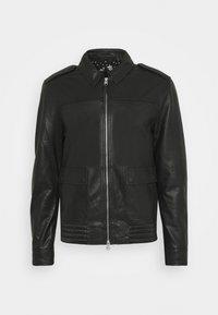 MACK AVIATOR - Veste en cuir - black