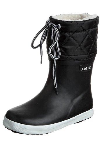 GIBOULÉE - Stivali di gomma - noir blanc