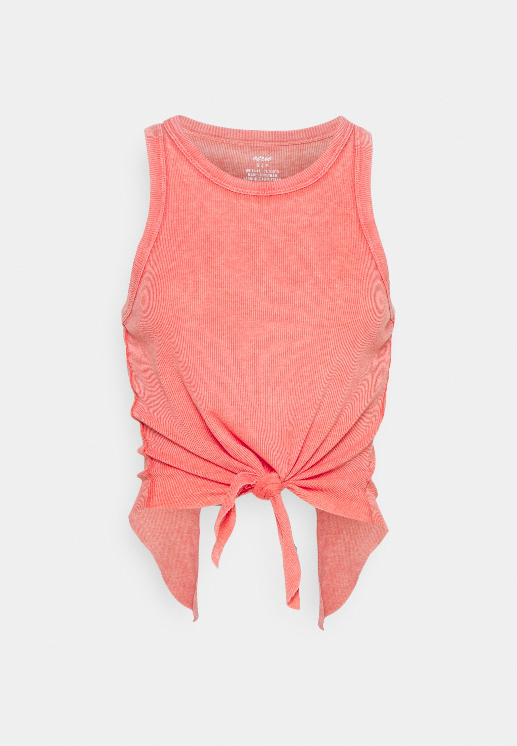 Donna CROPPED TIE FRONT TANK - Top