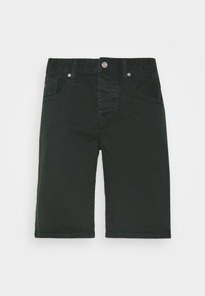 GARMENT DYED COLOURS - Jeansshorts - lagoon green