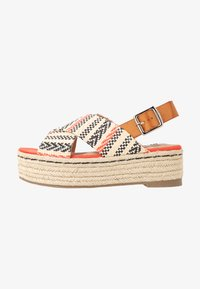 mtng - NEW TESSY - Espadrilky - coral - 1