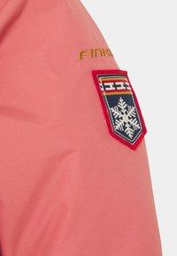 Finkid - LIKKA TUPPI - Hardshell jacket - rose/cinnamon - 2