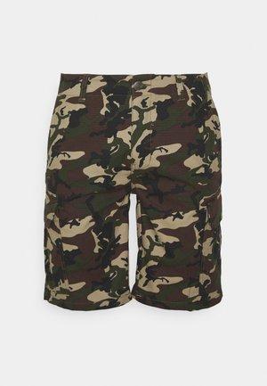 MILLERVILLE - Shorts - mottled dark green