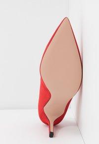 HUGO - INES  - High heels - bright red - 6