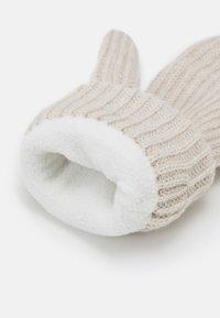 Weekday - CANDICE GLOVES - Mittens - off white melange - 2
