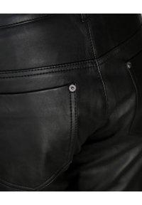 JCC - Leather trousers - black - 2