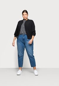 Noisy May Curve - NMISABEL MOM - Relaxed fit jeans - medium blue denim - 1