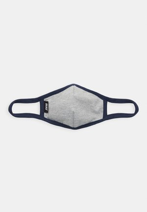 KIDS FACEMASK - Tygmasker - grey/dark blue