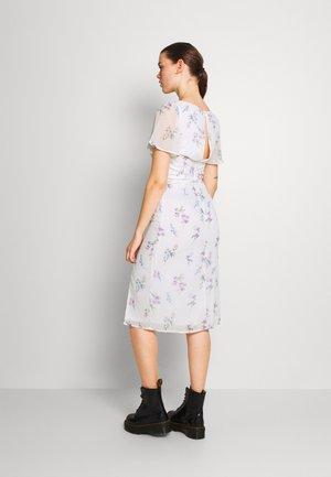 FRILL SWEETHEART DRESS - Sukienka letnia - white