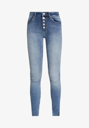 ONLBLUSH BUTTON - Jeans Skinny Fit - medium blue