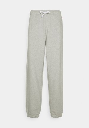 RED TAB PANT - Tracksuit bottoms - light mist heather