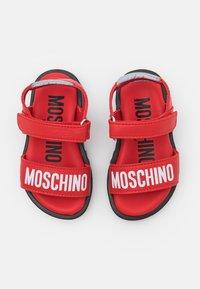 MOSCHINO - UNISEX - Sandals - red - 3