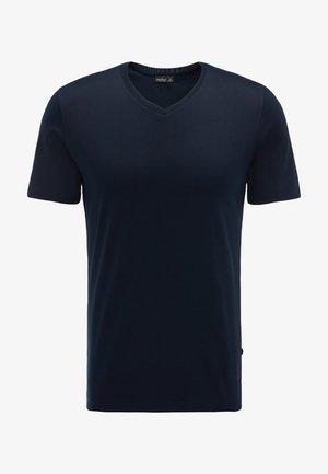 M-PIUS - Basic T-shirt - dunkelblau