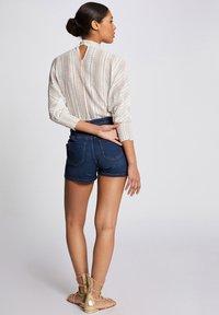 Morgan - Denim shorts - blue denim - 2