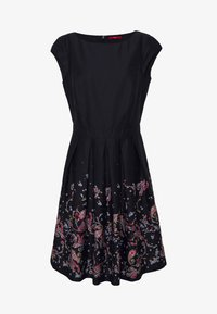 s.Oliver - Day dress - navy panne - 5