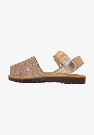MENORQUINAS AVARCAS - Sandalias - coral glitter