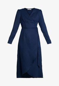 Glamorous - FRIDAY LONG SLEEVE WRAP DRESS - Vestito estivo - navy - 4
