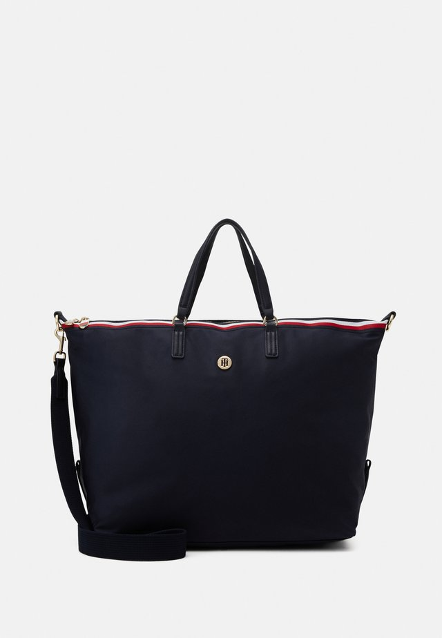 POPPY WEEKENDER CORP - Tote bag - blue
