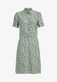 WE Fashion - Shirt dress - light green - 3