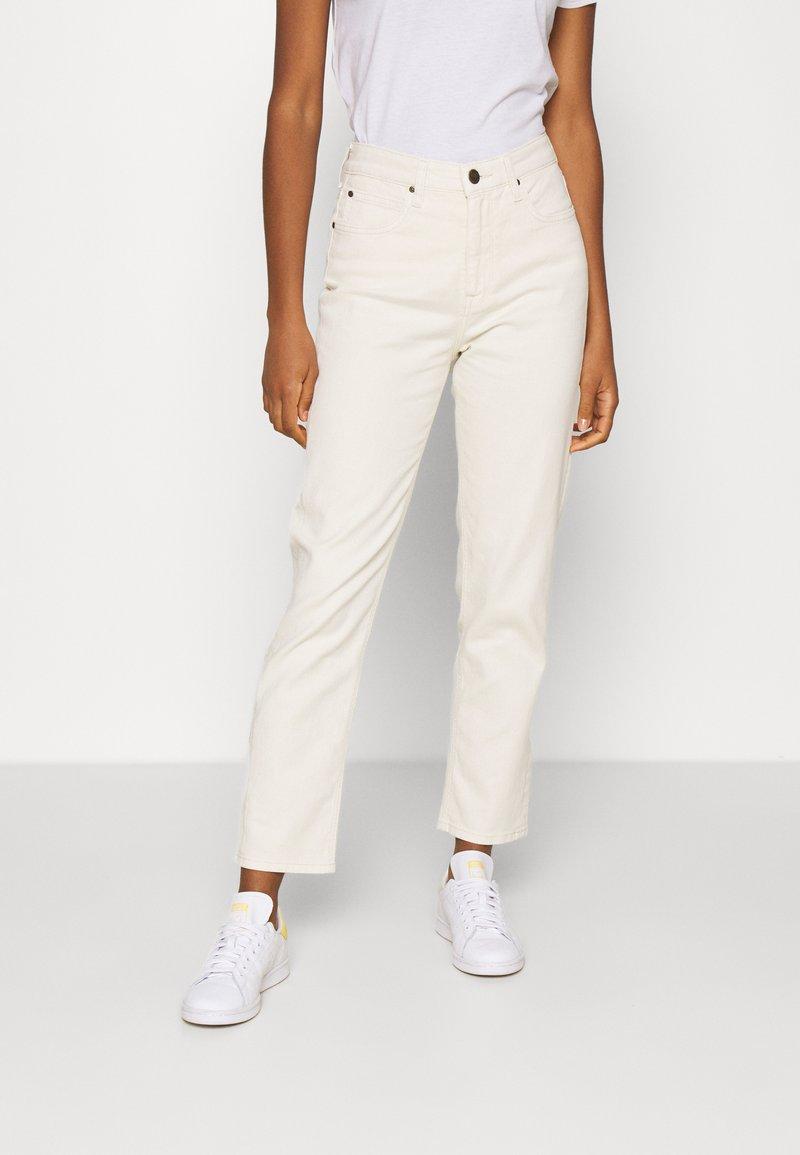 Lee - CAROL - Straight leg jeans - ecru