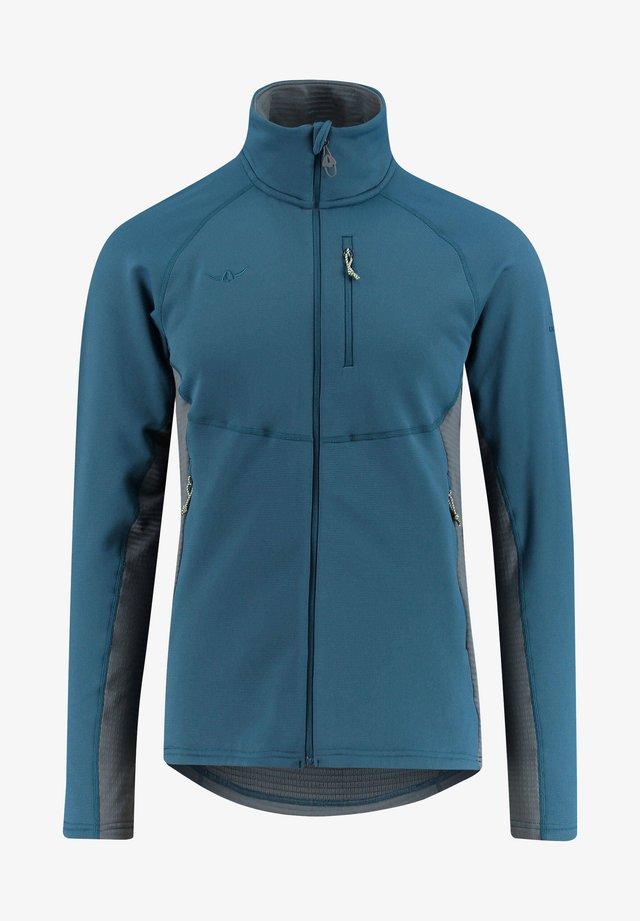 Fleece jacket - blau (296)