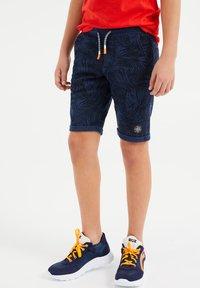 WE Fashion - Pantaloni sportivi - dark blue - 1