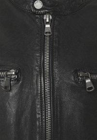 Freaky Nation - BREAK DAWN - Kožená bunda - black - 7