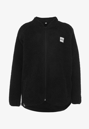 REDWOOD SHERPA JACKET - Fleecejakke - black