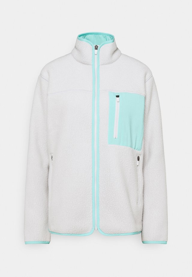 WANDERER JACKET - Fleece jacket - cloud grey