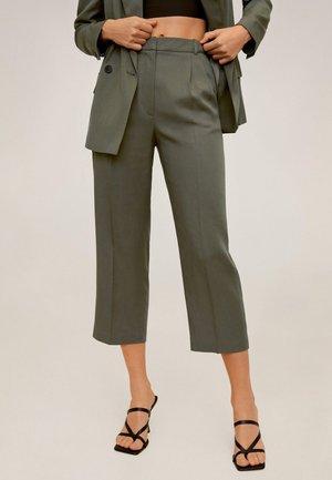 MONACO - Spodnie materiałowe - khaki
