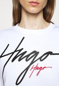 HUGO - NACINIA - Mikina - white - 5