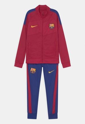 FC BARCELONA SET UNISEX - Verryttelypuku - noble red/deep royal blue