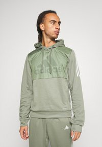 adidas Performance - MUST HAVES AEROREADY  - Hoodie - leggrn - 0