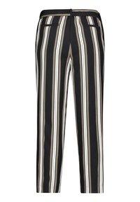 Betty & Co - MIT STREIFEN - Trousers - khaki/schwarz - 4