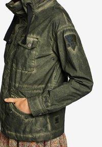khujo - SHAMA - Summer jacket - olive - 4