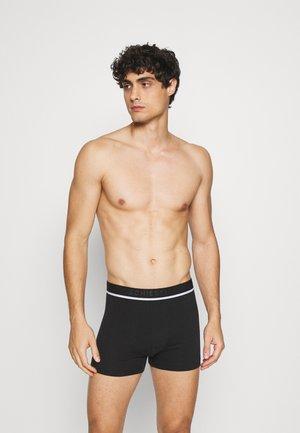 3PACK Boxershorts Organic Cotton - 95/5  - Onderbroeken - black/grey