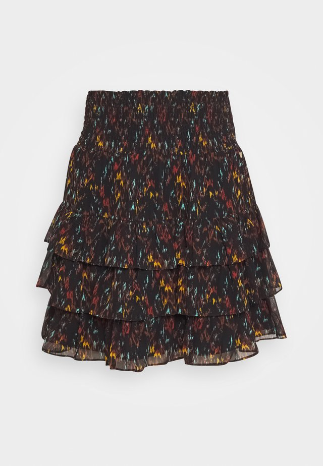 FRANCY SKIRT - Mini skirt - black