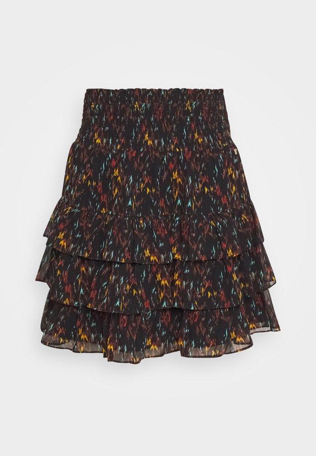 FRANCY SKIRT - Mini skirts  - black
