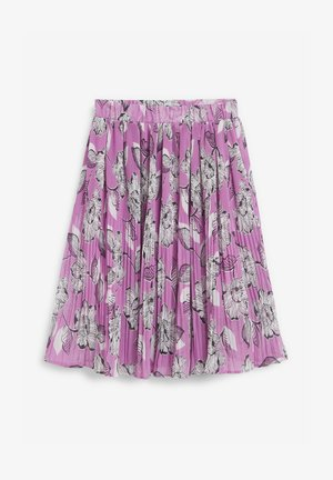 Pleated skirt - lilac