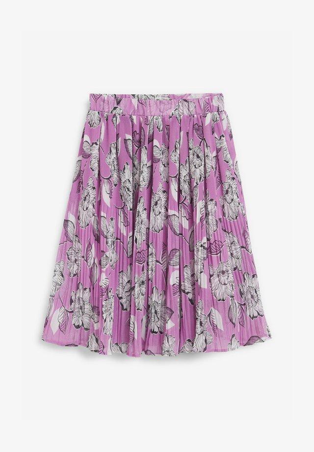 Plisovaná sukně - lilac